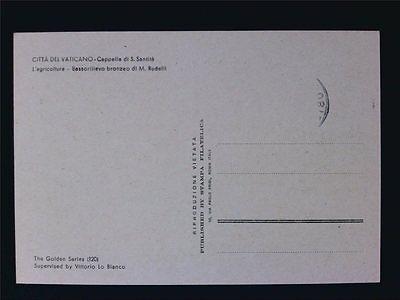 Topical Stamps Vatican Mk 1966 Berufe Musiker Musik Music Maximumkarte Maximum Card Mc Cm D5635