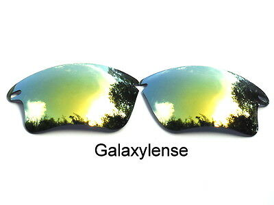 eb8082f987 ... Galaxy Replacement Lenses For Oakley Fast Jacket XL Sunglasses Gold  Polarized 2