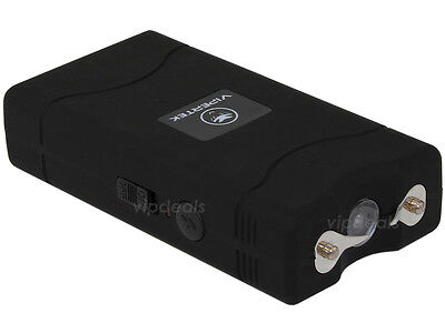 VIPERTEK BLACK VTS-880 100 BV Mini Rechargeable LED Stun Gun 2
