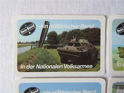 ORIG. NVA Kartenkalender 1987 Kalender Taschenkalender DDR Archivexemplar