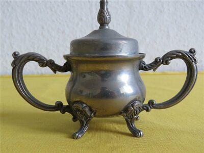 Kaffee Tee Mokka Set VERSILBERT - Kanne Zuckerdose Sahnegießer Teegeschirr 2