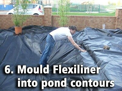Pond Liner Special Offer 40yr Life with FREE Underlay. Next Day Delivery. 7