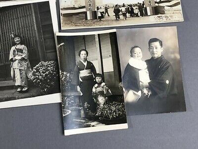 Collection of 19 Old Japanese MEIJI Prewar Postwar War Photographs 9