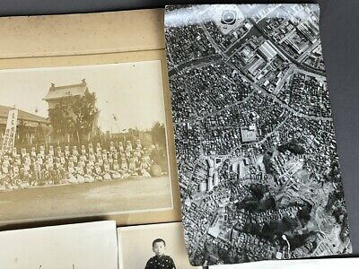 Collection of 19 Old Japanese MEIJI Prewar Postwar War Photographs 3