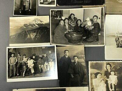 Collection of 19 Old Japanese MEIJI Prewar Postwar War Photographs 4