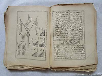 Turkey Ottoman Empire, one of the rarest Islamic books worldwide - illustrated! 6