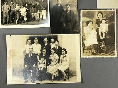 Collection of 19 Old Japanese MEIJI Prewar Postwar War Photographs 7