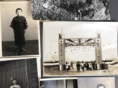 Collection of 19 Old Japanese MEIJI Prewar Postwar War Photographs 6