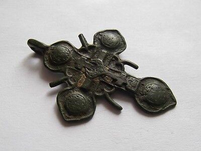 Medieval period  Bronze Cross Pendant
