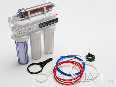 5 Stage RO & DI resin reverse osmosis water filter system 50/75/100/150GPD 2