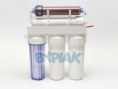 5 Stage RO with DI resin (Refillable) reverse osmosis filter 75GPD deionization 4
