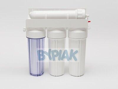 4 Stage RO Reverse Osmosis Filter 50/75/100/150GPD Aquarium Tropical Window Clng 2