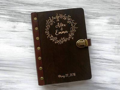 Weddings BnB Cabins Rustic Colorado Magnificent Moose Foiled Guest Book