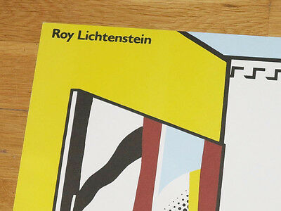 "ROY LICHTENSTEIN POSTER /"" ARTIST´S STUDIO LOOK MICKEY /"" POP ART PLAKAT in MINT"