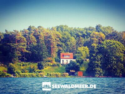 Urlaub am Wasser Ferienhaus See Wald Meer Mecklenburg Schwerin Ostsee Boot Kamin 2
