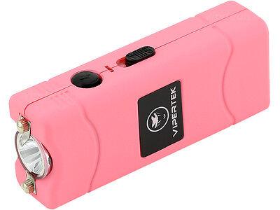 VIPERTEK PINK VTS-881 55 BV Micro Rechargeable LED Police Stun Gun Taser Case 3