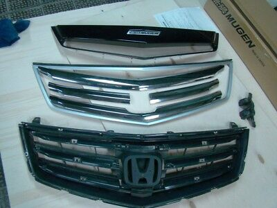 INSERT MUGEN STYLE in Original Grill for Honda Accord 8 / Acura TSX CU2