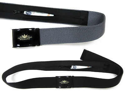 WESKENT Safe Money Belt wallet travel secret pocket hidden security belt 3
