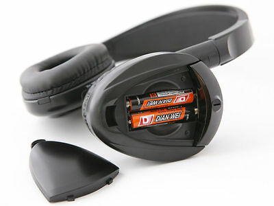 2 Wireless DVD Headsets for Honda Odyssey : New Headphones w/ Comfort Band 10