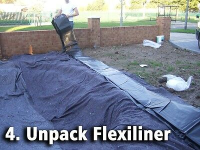 Pond Liner Special Offer 40yr Life with FREE Underlay. Next Day Delivery. 5