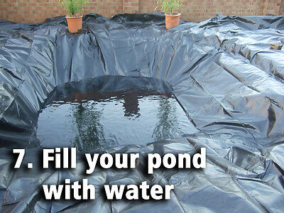 Pond Liners - Bestselling UK Pond Liner - Choose from 30 Bestselling Sizes 8