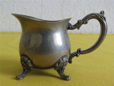 Kaffee Tee Mokka Set VERSILBERT - Kanne Zuckerdose Sahnegießer Teegeschirr 3