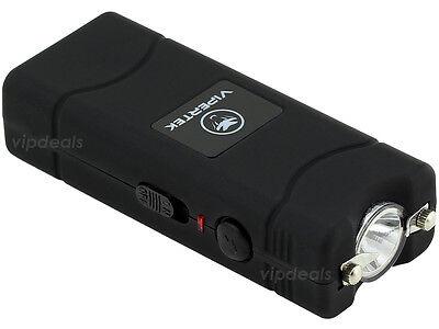 VIPERTEK BLACK VTS-881 55 BV Micro Rechargeable LED Police Stun Gun Taser Case 2