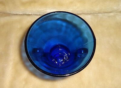 Antique / Vintage Art Nouveau L.e.smith  Cobalt Blue Vase Art Deco