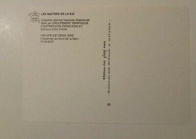 carte postale Denis Sire Collection Bonnes Vacances 2