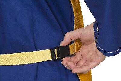 WELDAS Welding Bib Apron, Self Balancing Strap System, HIGH QUALITY, choose size 4