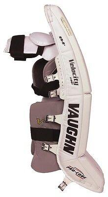 NEW VAUGHN 1100I Int goalie leg pads Black/White 31