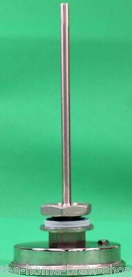 "Weldless Thermometer 5"" Long- Home Brewing - All Grain - Boiler - Mash Tun - HLT 3"