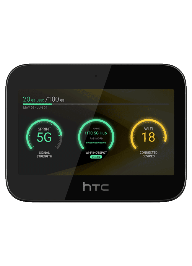 HTC 5G Hub Qualcomm ® Snapdragon from Sprint A 3