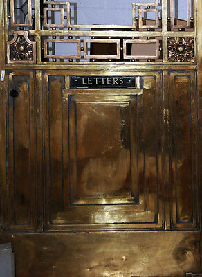 Bronze Entry Doors with Transom #509 6