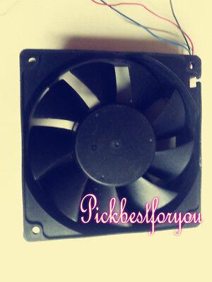 ADDA AD1224MB-F9BGPM DC 24V 0.68A Cooling Fan 120 x 120 x 38 mm 4Wire #MY69 QL 2