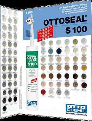 Ottoseal Otto Chemie S100 Silicon alle Farben Bad Sanitär Silikon Fuge 1xVERSAND 2