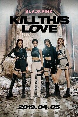 BLACKPINK [KILL THIS LOVE] 2nd Mini Album CD+POSTER+PBook+Card.F.Poster+etc+GIFT 2