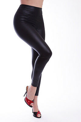 Lycra Leggings in Leder Look / Lycra Leggings in Leather Look 3