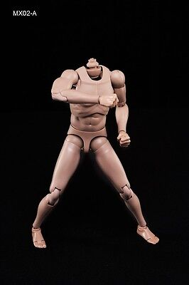 1/6 Action Figure Male Body Caucasian Skin MX02-A 2.0 In Stock