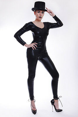 Lycra Catsuit in Lack/Latex look mit dem Hut / Sexy lycra Catsuit with a hat 4