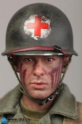 DID DRAGON IN DREAMS 1:6TH SCALE WW2 U.S 77th INFANTRY DIV MEDIC M43 BOOTS