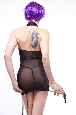 Sexy Transparent Babydoll + String 3