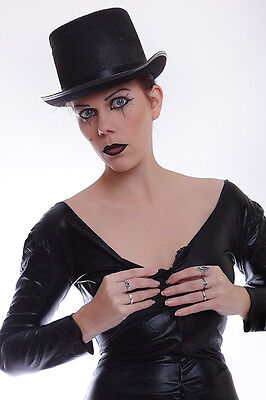 Lycra Catsuit in Lack/Latex look mit dem Hut / Sexy lycra Catsuit with a hat 3