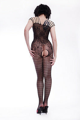 Eleganter Ganzkörperstrumpfhosen Ouvert / Elegant Body Stockings 2