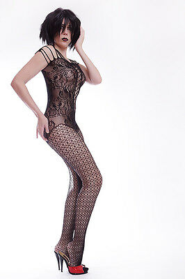 Eleganter Ganzkörperstrumpfhosen Ouvert / Elegant Body Stockings 3