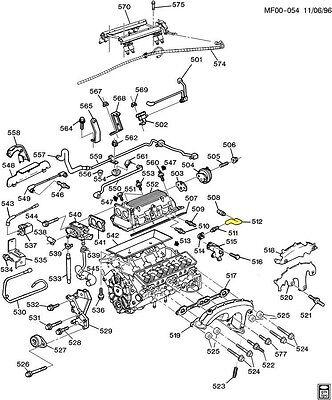 92 95 Corvette 93 94 Camaro Firebird Lt1 Pvc Crank Case Ventilation