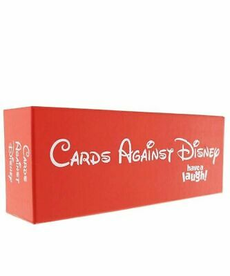 New SEALED Cards Against DISNEY 828 Cards ORIGINAL RED/Black PACK Edition 2