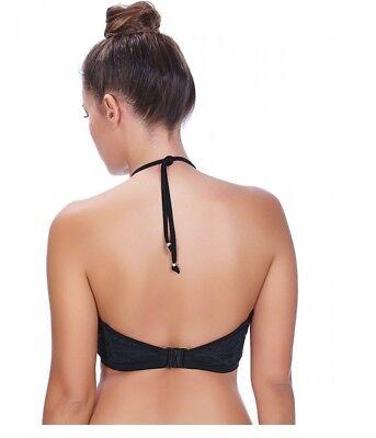 Freya~Sundance-Crop-Top/Bandeau-Bikini Bra-Black-**Various Sizes* 2