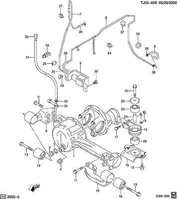 Actuator Pump Air Pump Chevy Tracker 4wd 1999 2004 247 00 Picclick