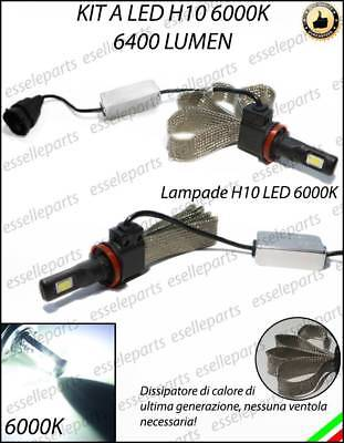 Kit Full Led Opel Corsa E Lampade H10 Fendinebbia Canbus 6400L 6000K No Error 2